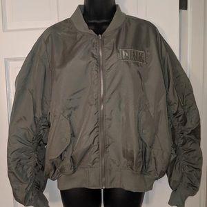 Victoria secret pink bomber jacket